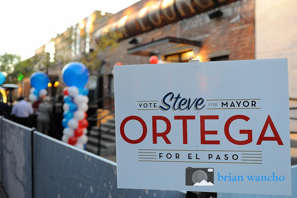 El Paso Event Photographer - Ortega for El Paso