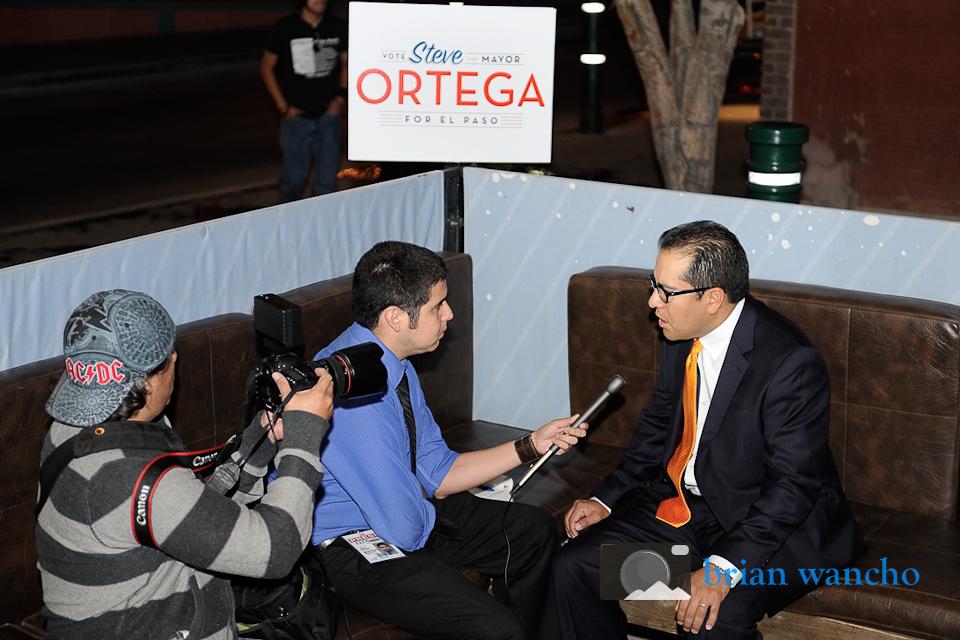 Ortega for El Paso Announcement Event Photography