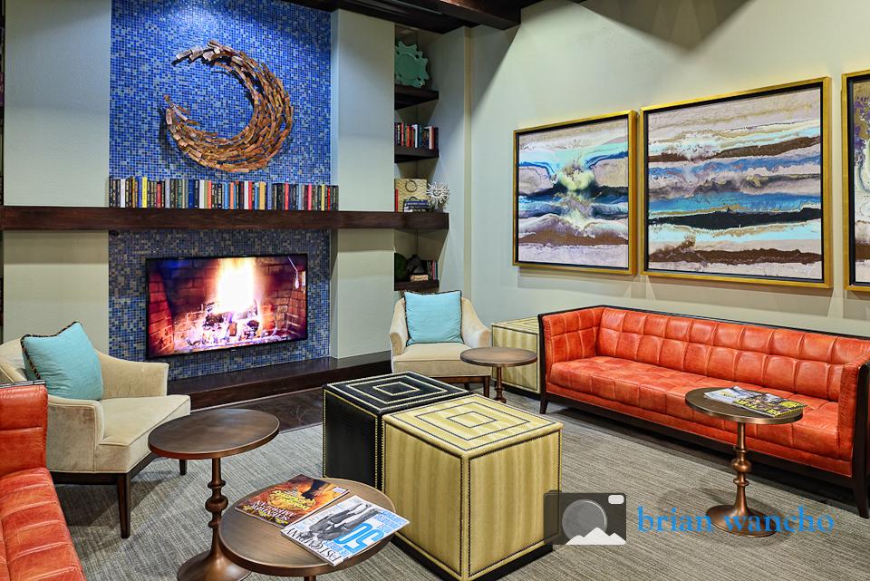 Interior decoration photography