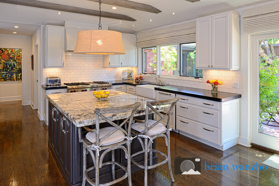 Kitchen remodel project - interior photography
