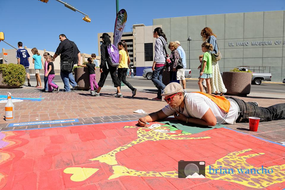 El Paso Event Photographer - Chalk the Block