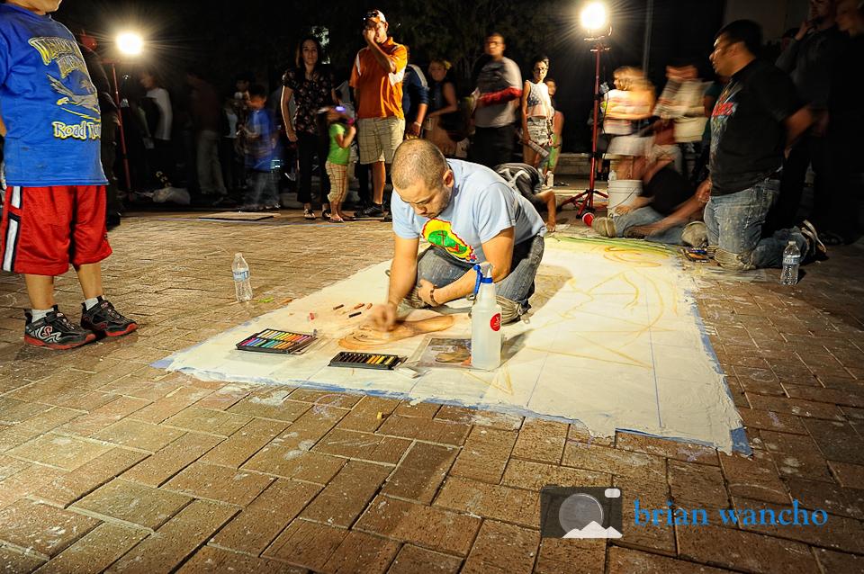 El Paso Photographer - Chalk Artists at Chalk the Block
