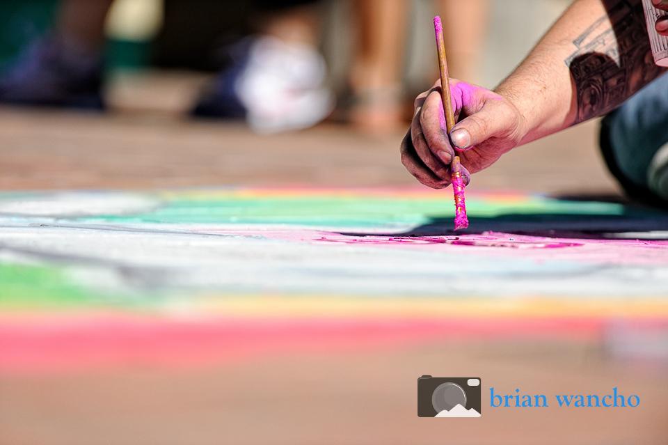 Creative Photographer in El Paso - Chalk the Block 2012