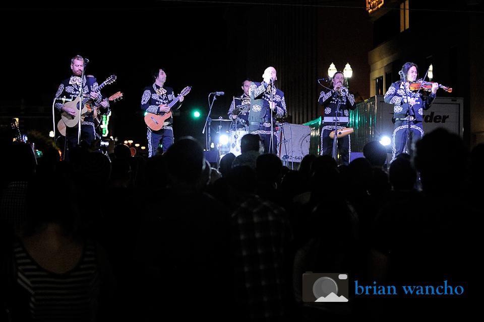 Live music photographer in El Paso - Mariachi El Bronx