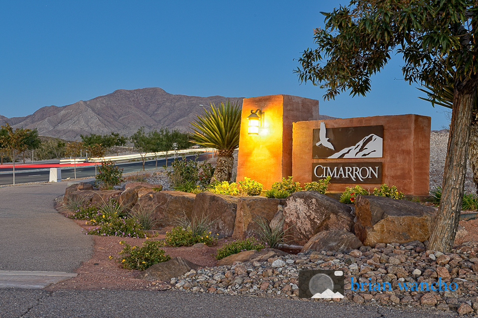 Exterior Architectural Photographer in El Paso - Hunt Cimarron