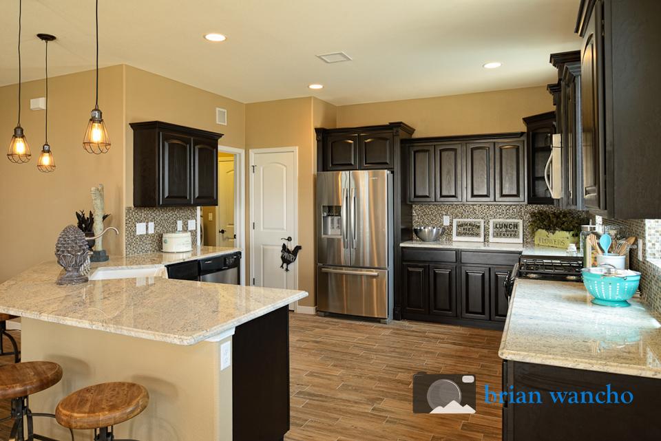 Kitchen in Model Home - Real Estate in El Paso