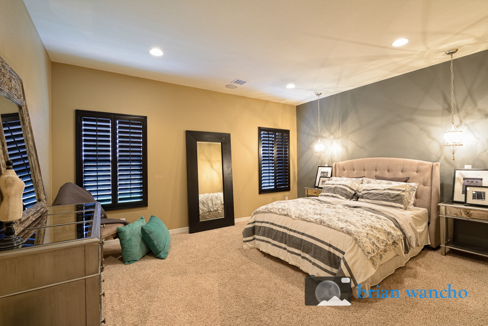 Master bedroom - real estate photographer
