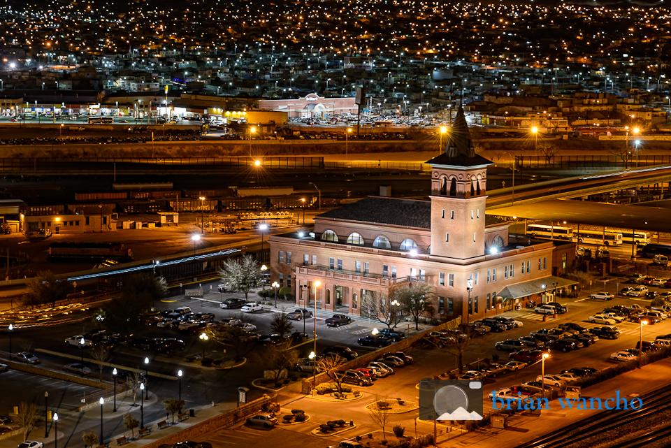 Union Depot building in El Paso