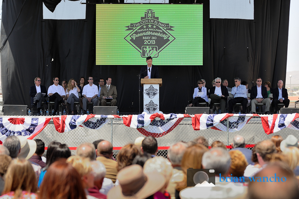 El Paso Triple-A Baseball Stadium Groundbreaking