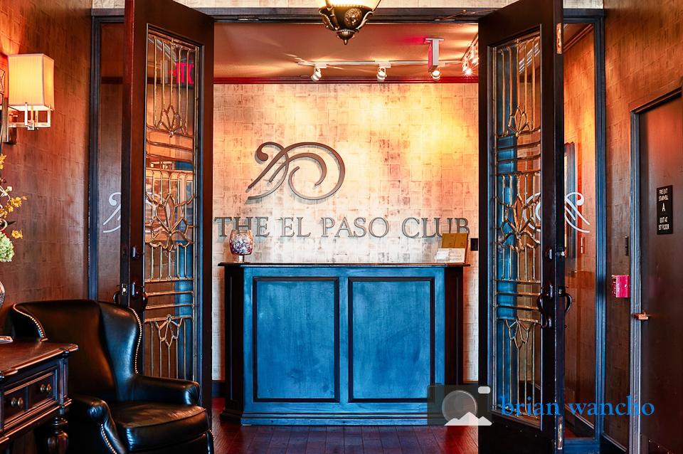Interior Architecture Photography The El Paso Club El Paso Professional Photographer