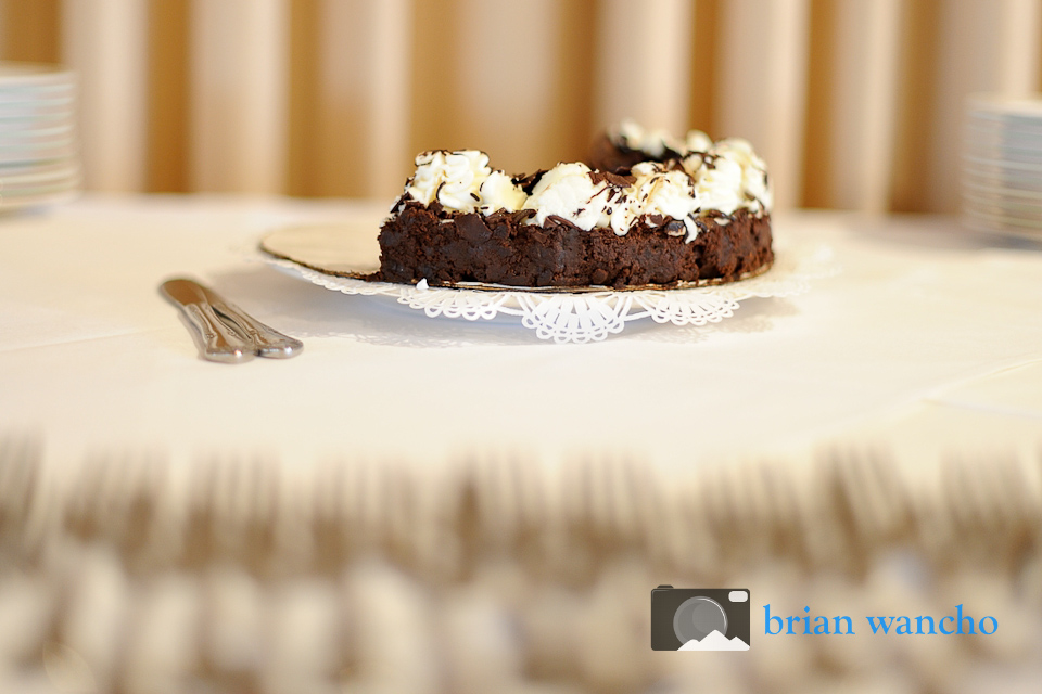 Chocolate cake dessert - food photographer in el paso