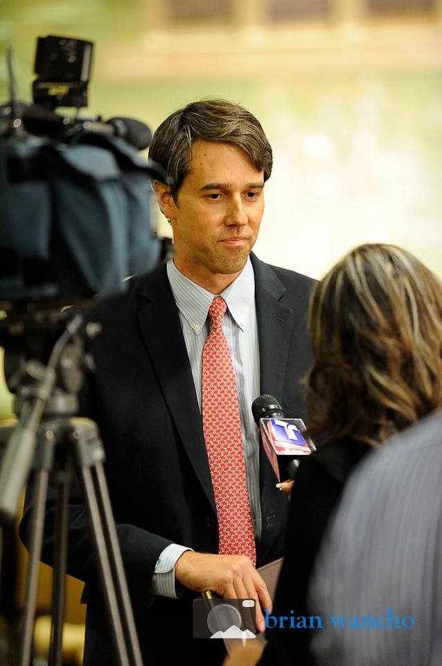 Beto O'Rourke at the Telemundo Congressional Debate