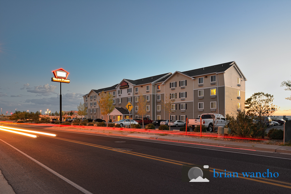 Dusk exterior photography in Las Cruces