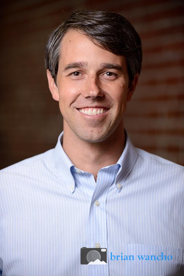 Portrait Photographer in El Paso - Beto O'Rourke