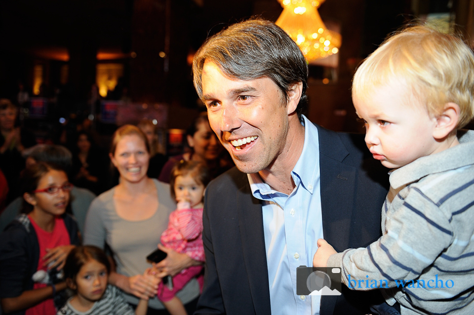 Beto O'Rourke's Election Victory Party