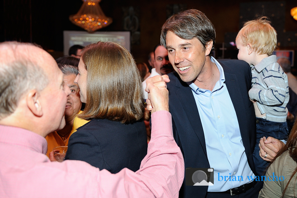 Beto O'Rourke Event Photography