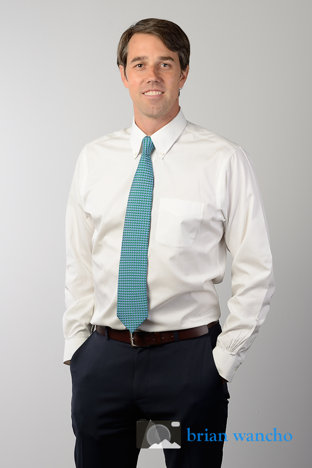 Portrait Photography for Beto O'Rourke
