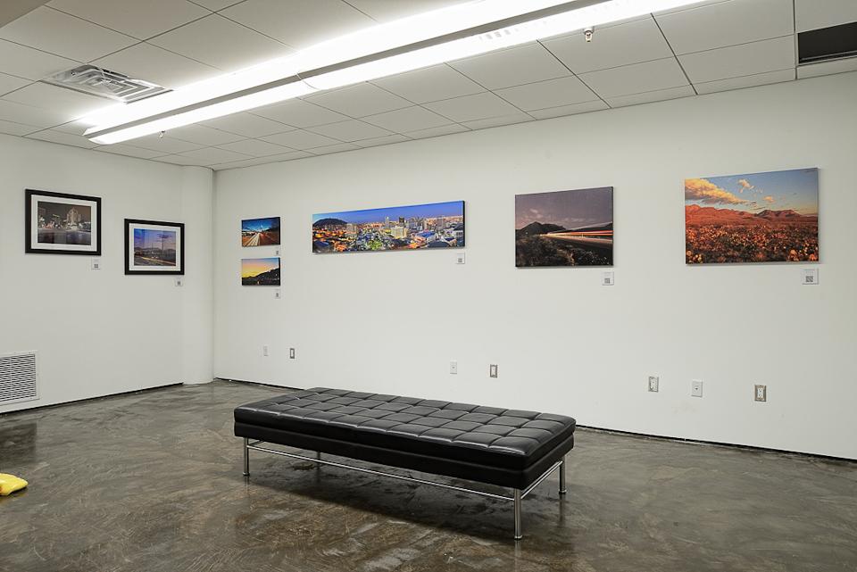 Art photography exhibit