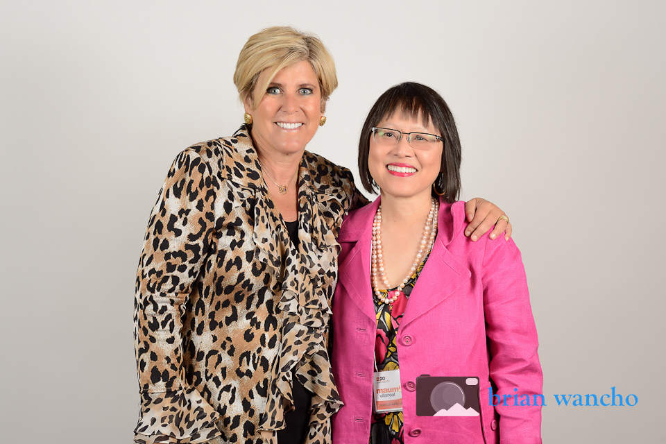 Professional Portrait Photography - Suze Orman at YWCA Women's Luncheon