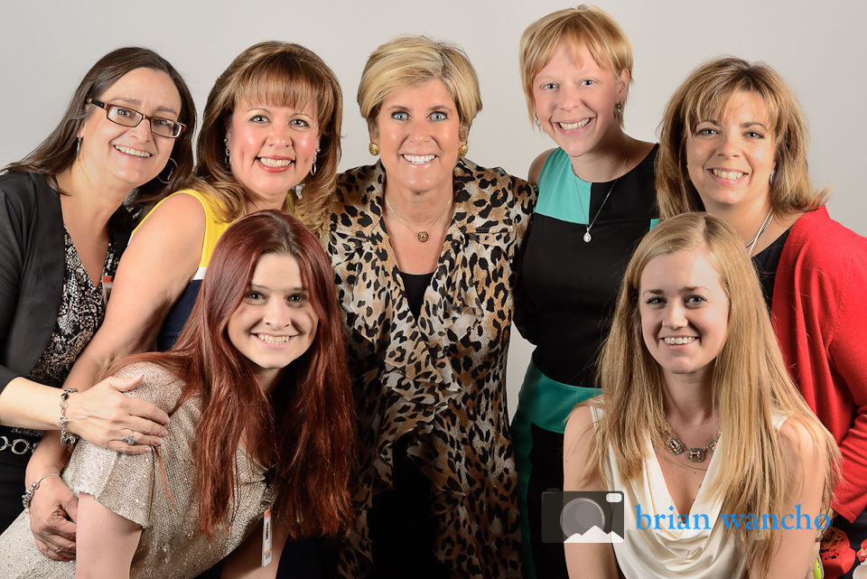YWCA Staff with Suze Orman at the 2013 Women's Luncheon